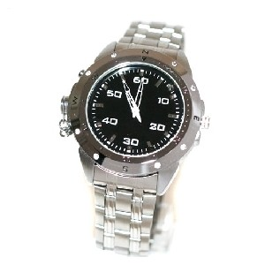 4 GB Spy Watch (Quartz) - Video/Audio Recorder HD